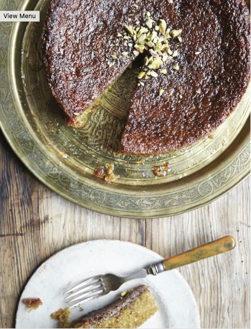 pistachio cake shot